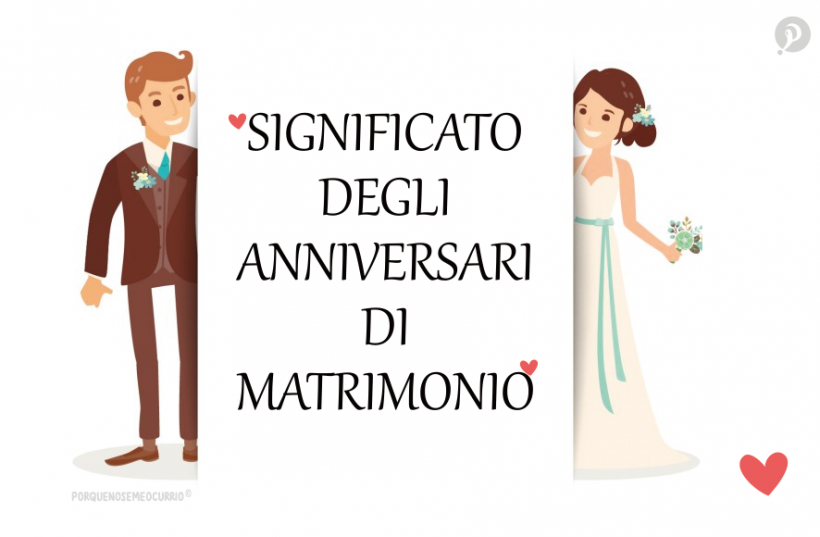 Per Tradizione Ogni Anno Di Matrimonio Ha Un Significato Ben Preciso Quelli Piu Conosciu 40 Anniversario Di Matrimonio Anniversario Di Matrimonio Anniversari