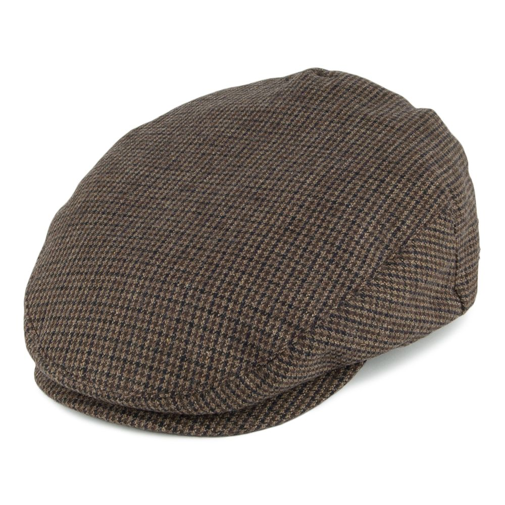 4a7e494c6 Brixton Hats Hooligan Flat Cap - Brown Combo from Village Hats ...
