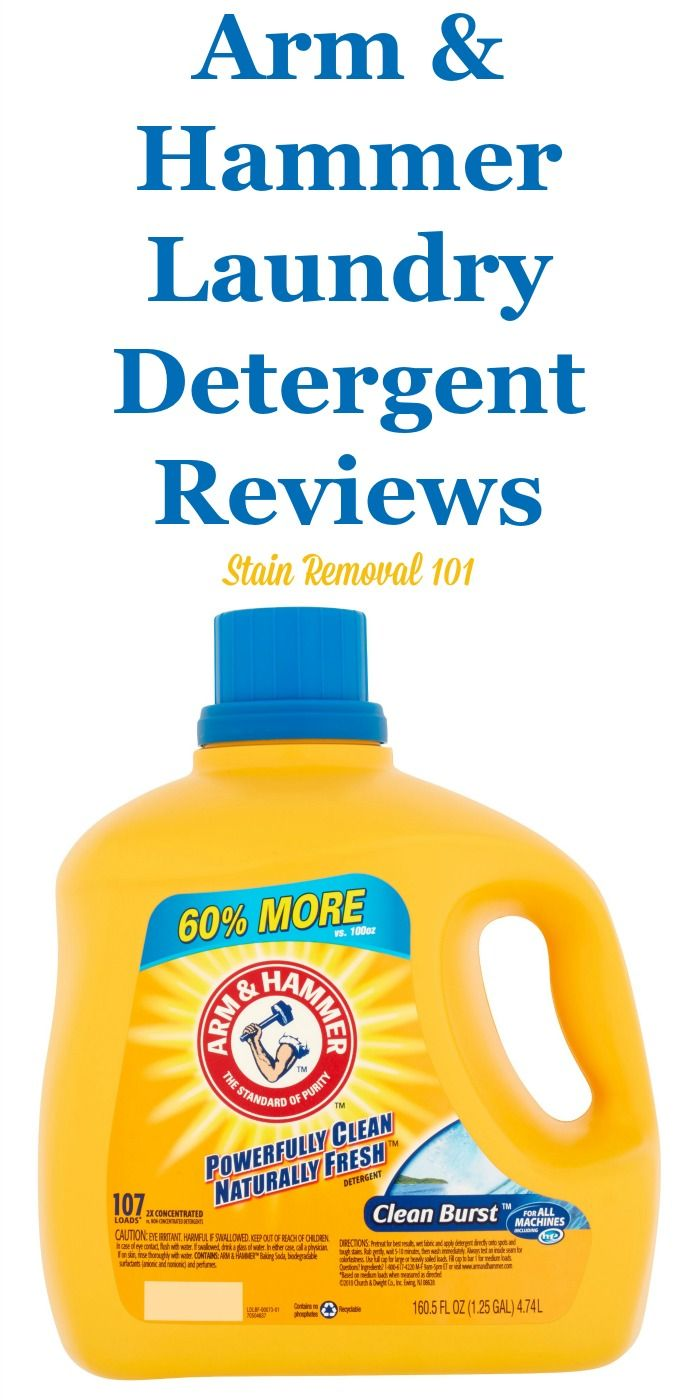 Arm And Hammer Detergent Reviews Ratings And Information Arm