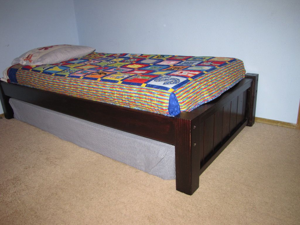 Build a Michael Collection: Twin platform bed | Free and Easy DIY ...