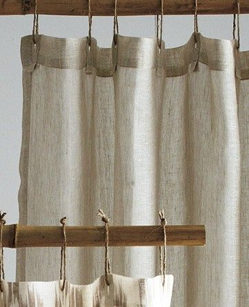 Linen Shower Curtain Bathroom Curtains Curtains Pictures