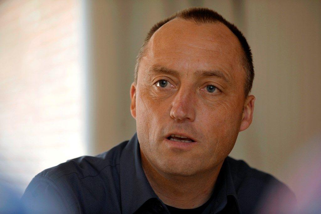 """Wouter Vandenhaute, directeur productiehuis """"Woestijnvis""""."""