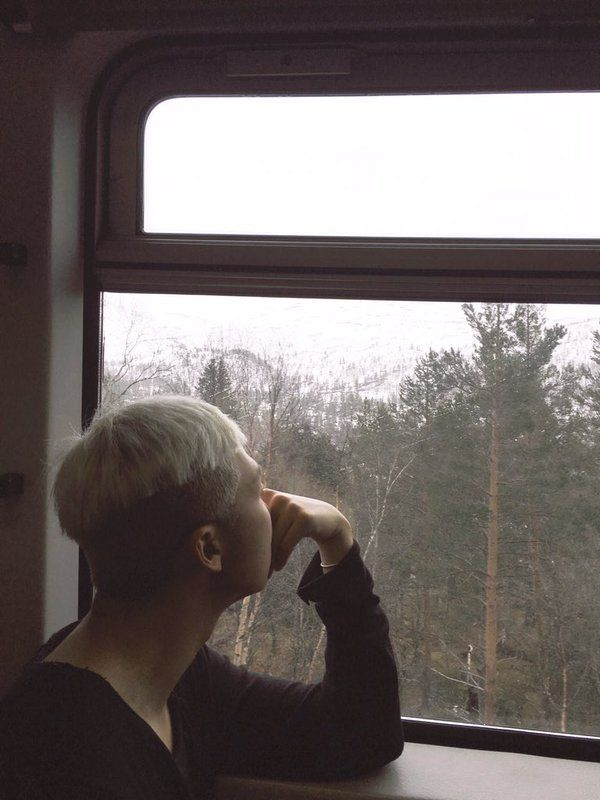 Rap Monster ❤ 안녕 / Hello. Namjoon in Norway #BTS #방탄소년단