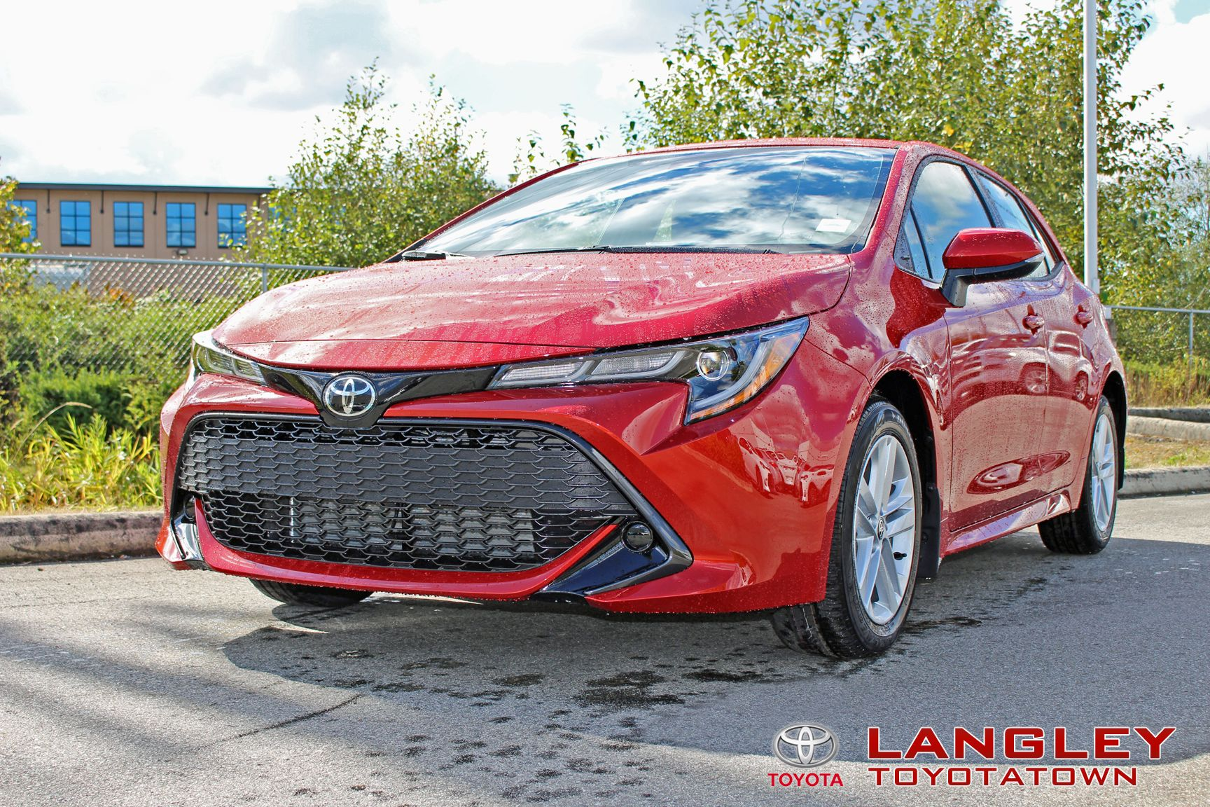 The Spicy 2019 Corolla Hatchback In Smoked Paprika Corolla Hatchback Toyota Dealers Toyota