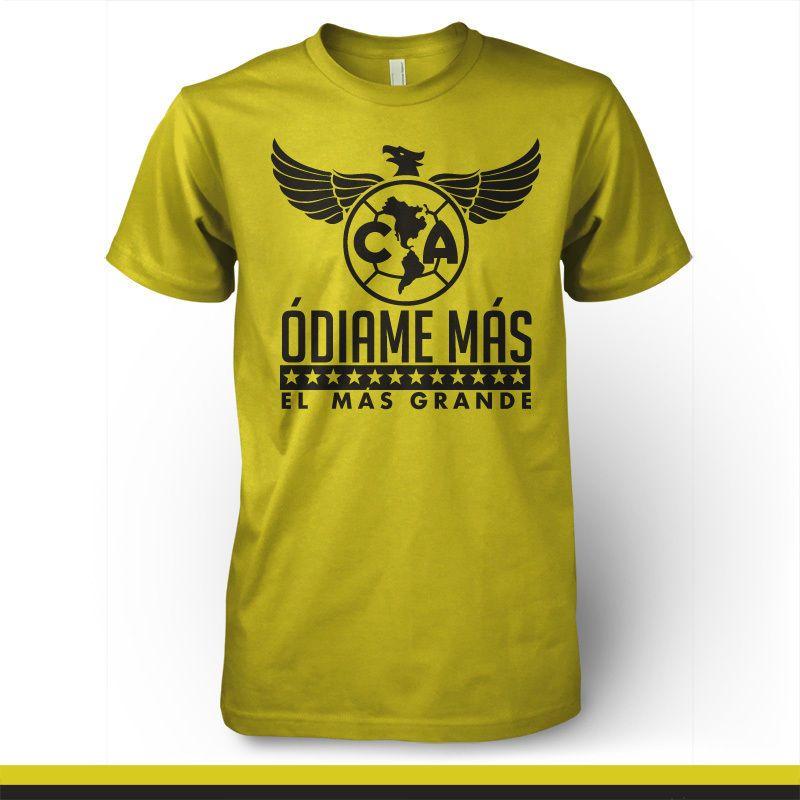 Club America Mexico Aguilas Camiseta Jersey T Shirt Odiame Mas El Mas  Grande FMF in Sporting Goods  9450859a12b8b