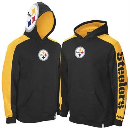 Steelers sweaters with logo on hood  54f3a1f3c