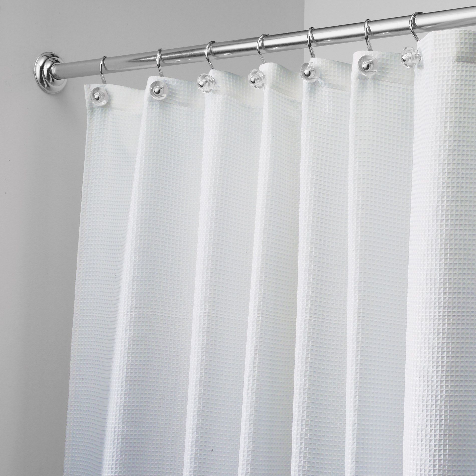 White eyelet shower stall curtain home decor pinterest
