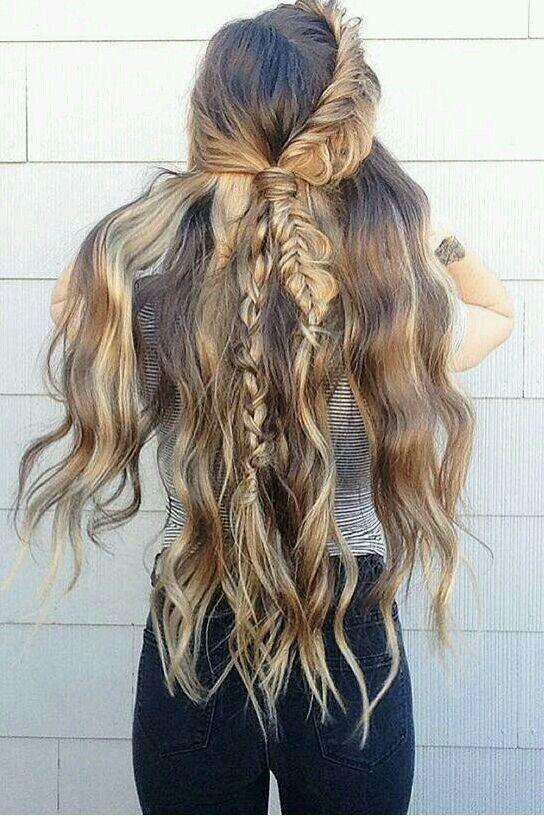 Pinterest peinados con trenzas