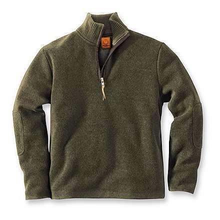 Image detail for -Eddie Bauer Windproof Wool Half-Zip Sweater ...