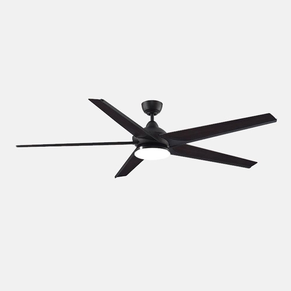 Subtle Indoor Outdoor Ceiling Fan With Light Comes In Brushed Nickel With Reversible Dark Walnut Silver Ceiling Fan With Light Ceiling Fan Fanimation