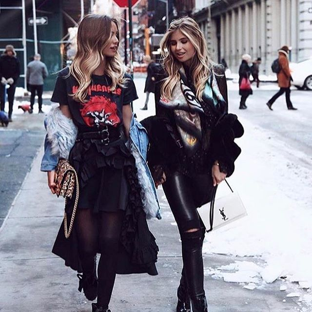 Sunday walk! Tag your bestie.  Via @the.fashionistas.diary  #thefashionbox