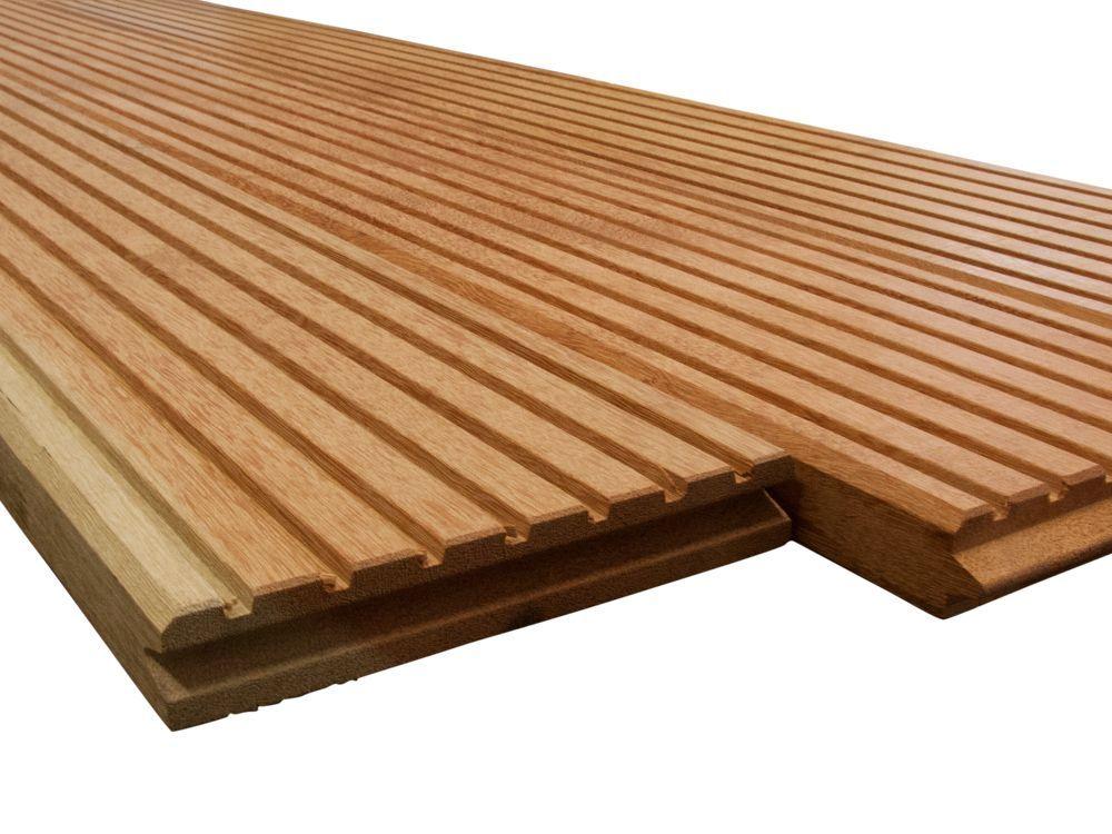 Mandioqueira Sichtschutztor Holz Gartentor Sichtschutz Tür Tor 1780x980mm
