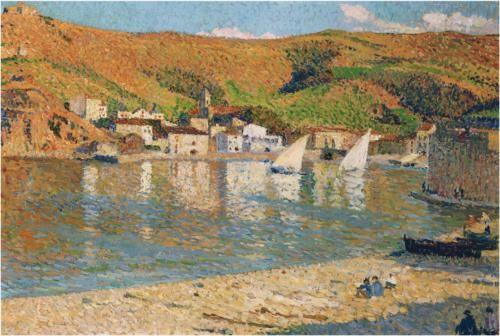 Port Collioure - Henri Martin