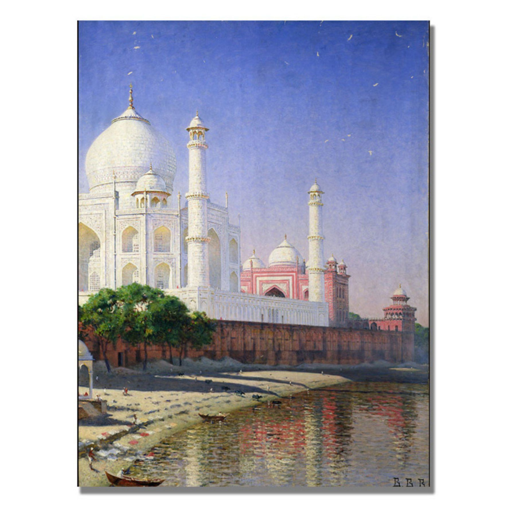 Taj Mahal Canvas Art by Vasili Vereschagin - BL0929-C1824GG