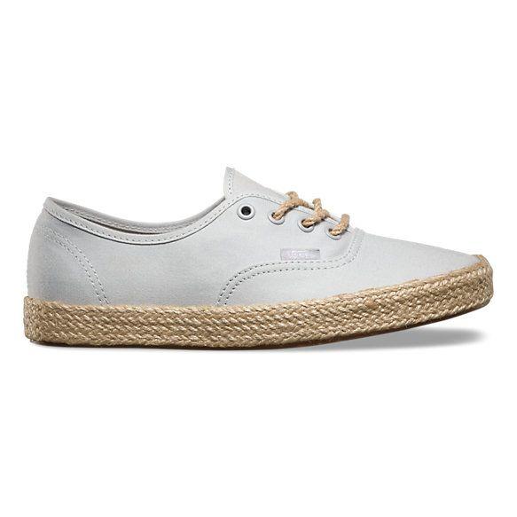 4916e44c8e Canvas Authentic Espadrille Vans Shoes