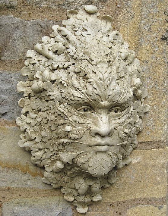 Wonderful Garden Ornaments   Green Man Garden Ornaments Buy Green Man Garden Ornament  Ilmington We Have A Stunning Collection Of Hand Crafted Green Man Wall ...