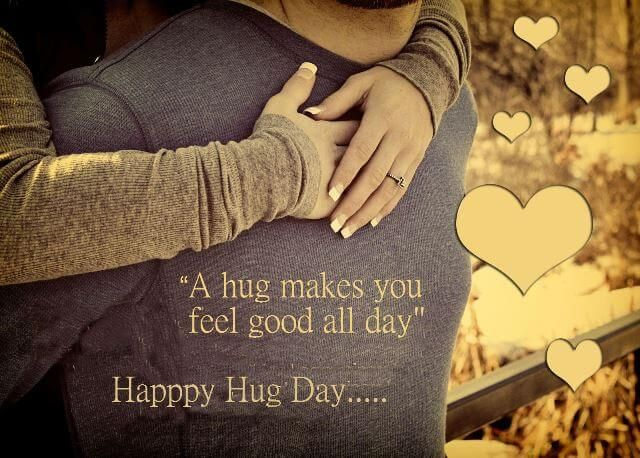 Cute Couple Hug Day Quotes