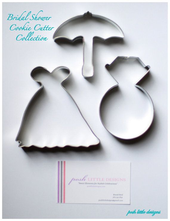 Bridal Shower Cookie Cutters So Cute