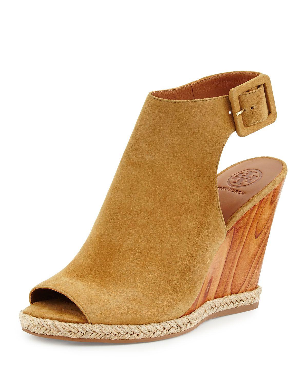 d937b1d7b96 Raya Suede Wedge Sandal Raw Umber in 2019 | *Apparel & Accessories ...