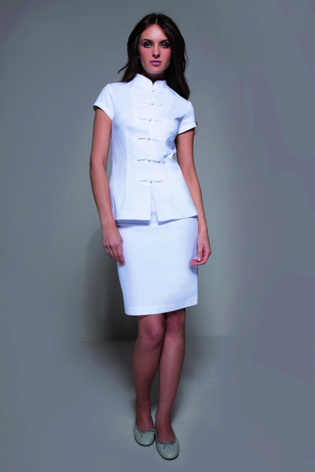 44ca942e20a STYLEMONARCHY Spa Uniforms & Medical Uniforms: Shanghai Tunic & Manhattan  Skirt