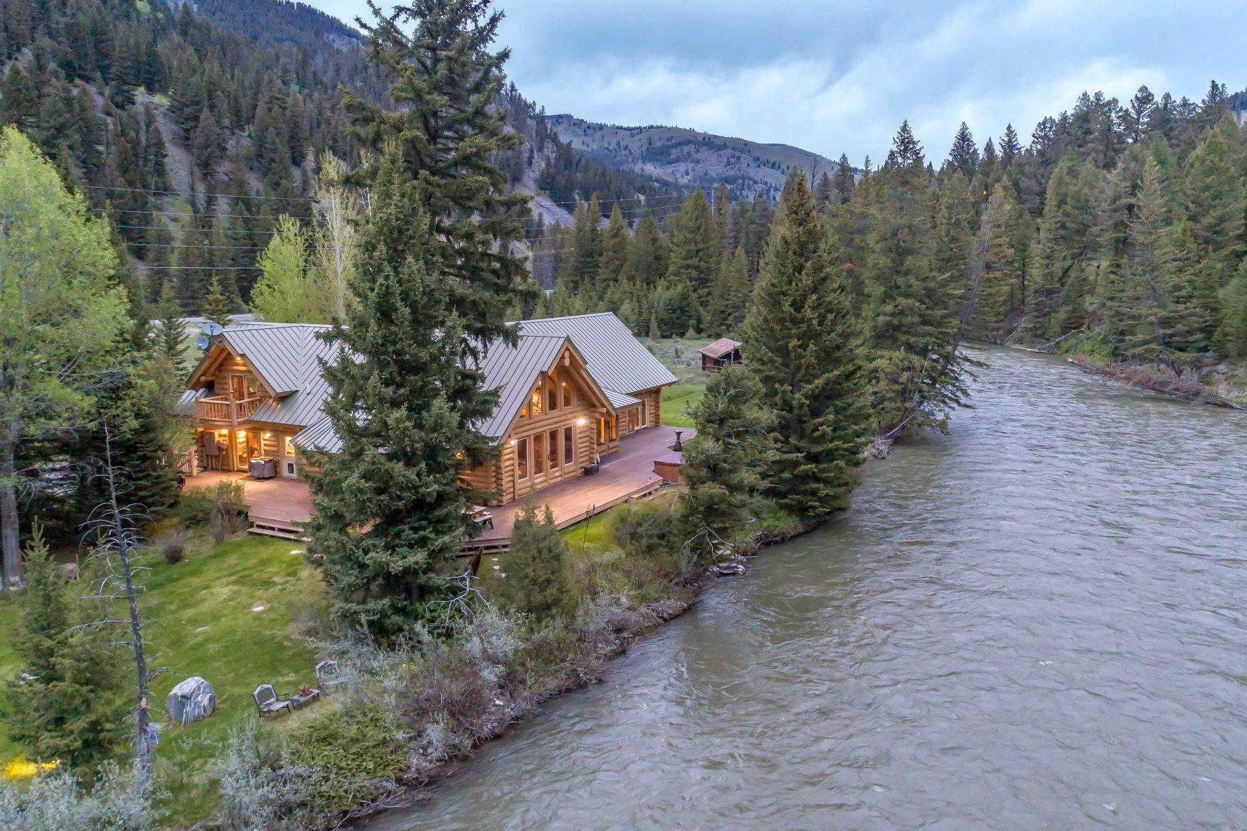 Gallatin River Retreat Big Sky Montana Estados Unidos Casa De Lujo En Venta Estados Unidos Casa De Lujo Casas