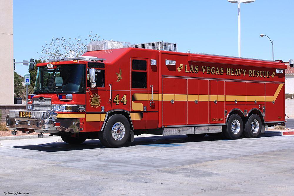 Las Vegas Fire Department Heavy Rescue 44. ★。☆。JpM
