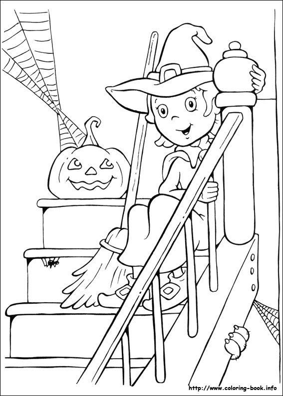 Halloween coloring picture | Halloween | Pinterest | Halloween ...