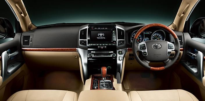 Toyota Land Cruiser 2012–года