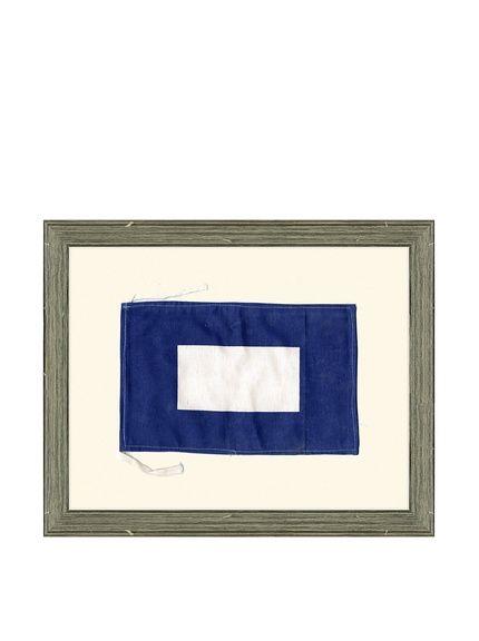 "Framed Maritime Letter P ""Papa"" Signal Flag, http://www.myhabit.com/redirect/ref=qd_sw_dp_pi_li?url=http%3A%2F%2Fwww.myhabit.com%2Fdp%2FB00JXBEYKO"
