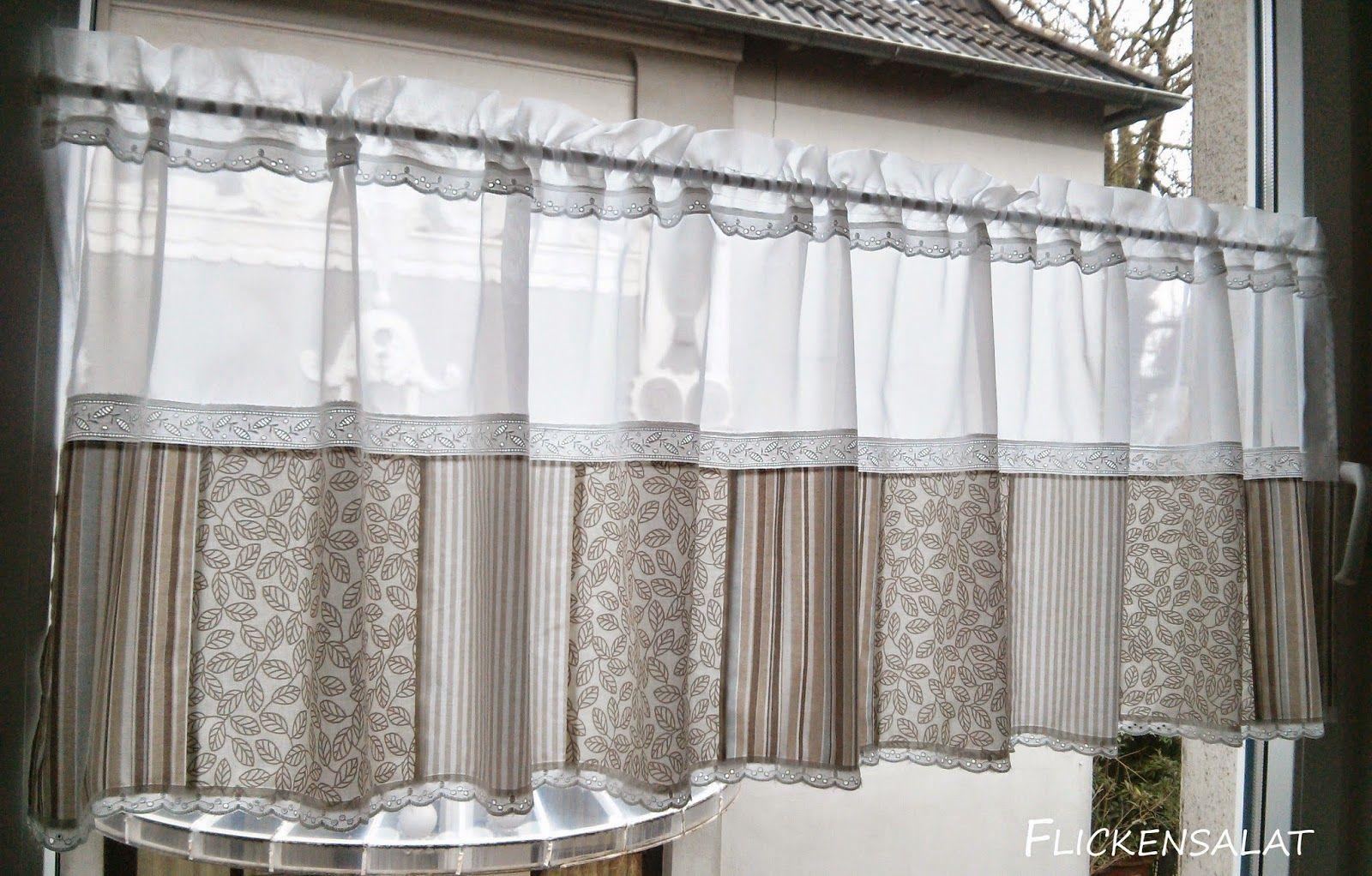 flickensalat patchwork pinterest gardinen gardinen ideen und vorh nge. Black Bedroom Furniture Sets. Home Design Ideas