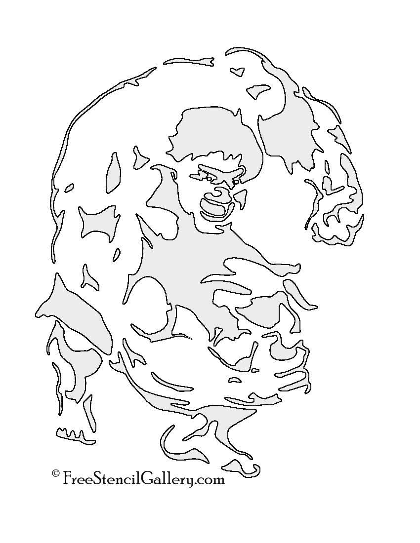 Hulk Stencil Stencils Pinterest Stencils Hulk And Stencil Art