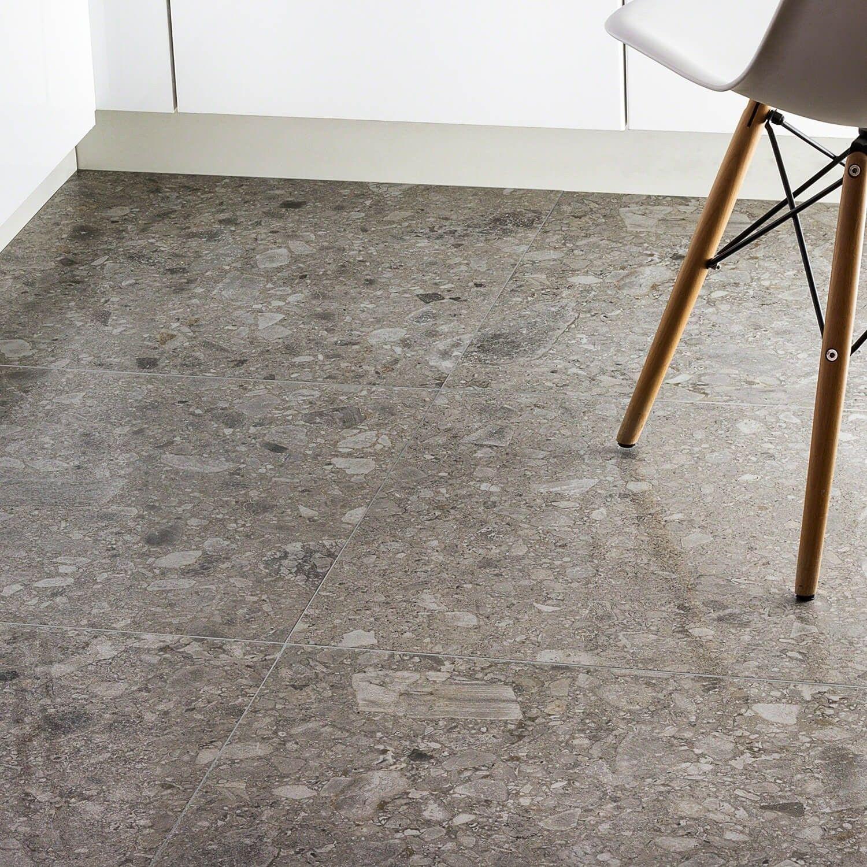 Rizo Tortora 24x24 Terrazzo Look Porcelain Tile Concrete