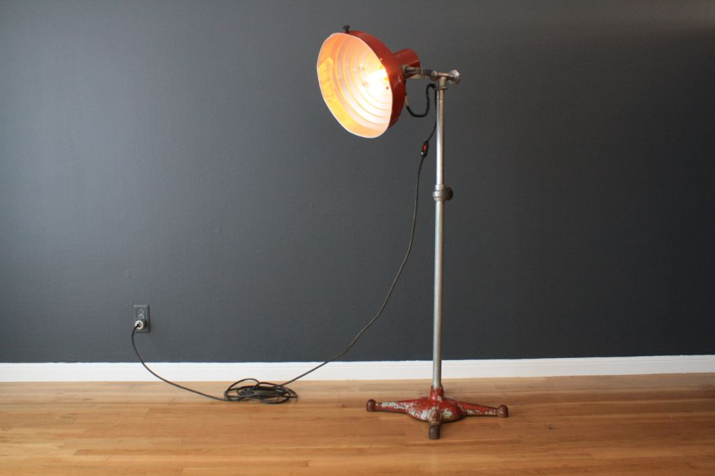 Cool industrial floor lamps lighting pinterest industrial cool industrial floor lamps aloadofball Image collections