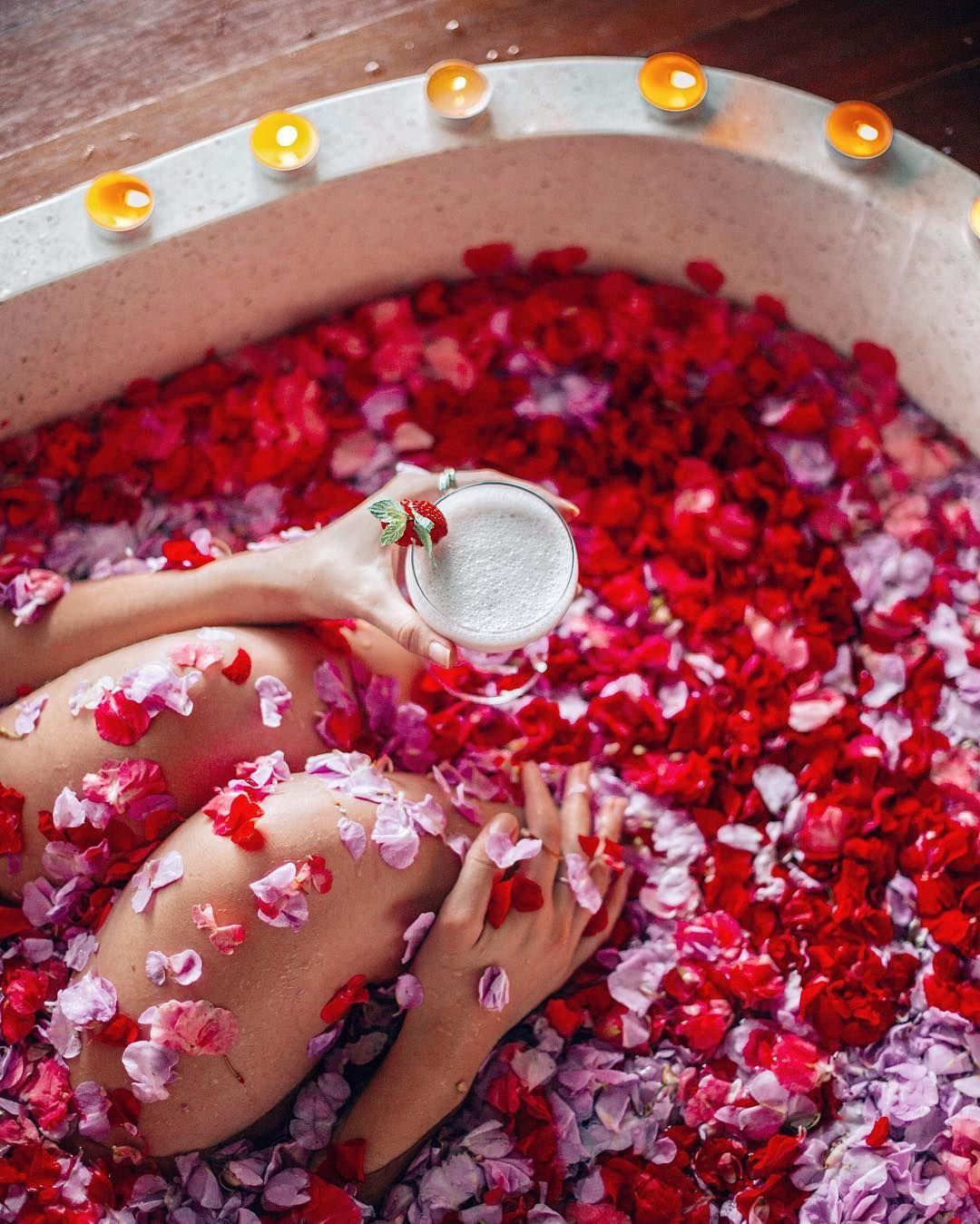 Instagram Flower Bath Food Ubud