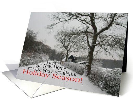 Wonderful Holiday Season from New Home - new address ...