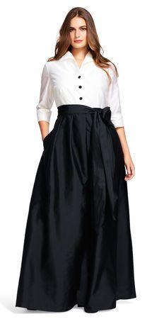 Taffeta blouse teen