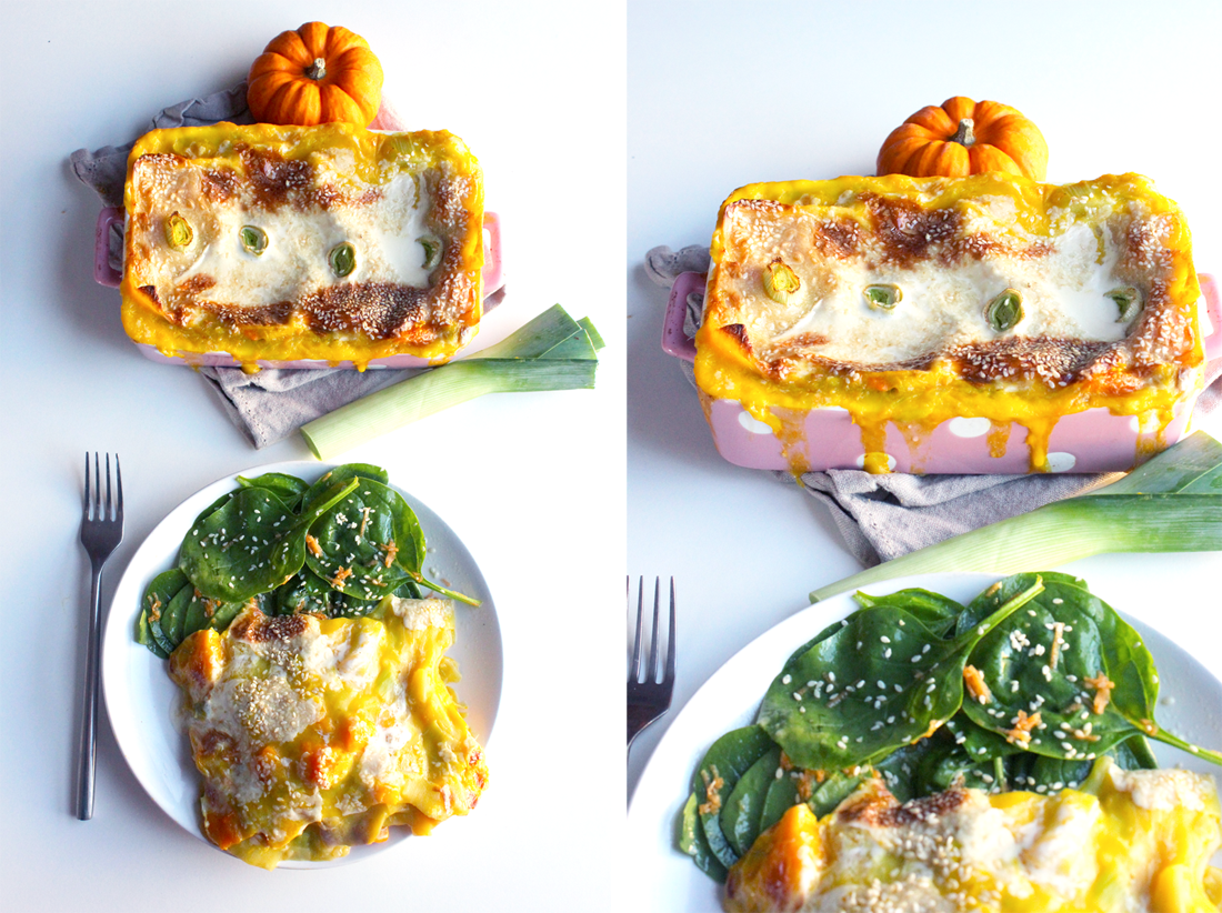 Lasagnes aux poireaux et potimarron | Lasagnes, Cuisine ...