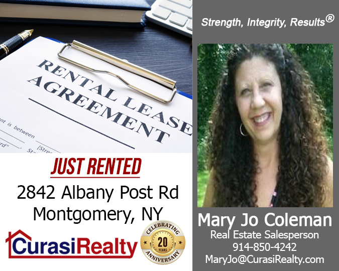 Great Job Mary Jo Coleman Did You Know Curasi Realty Is Also An Excellent Resource In Assisting La Real Estate Salesperson Being A Landlord Coleman