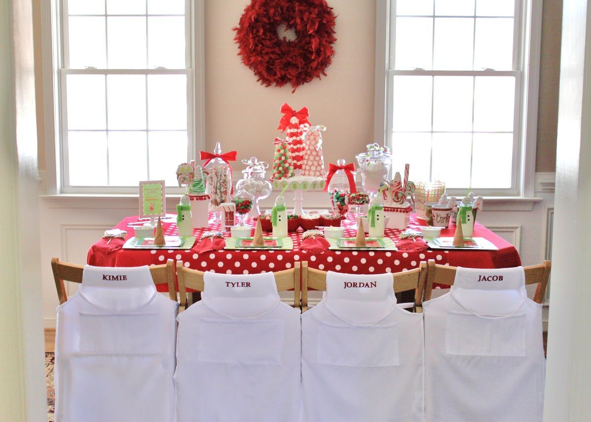 Christmas Baking Party Ideas Part - 47: Kids Candy Coated Christmas Party