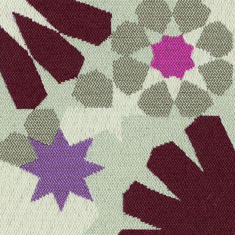 Outdoor Fabric Colorful Geometric Majolica Blush Toto Fabrics