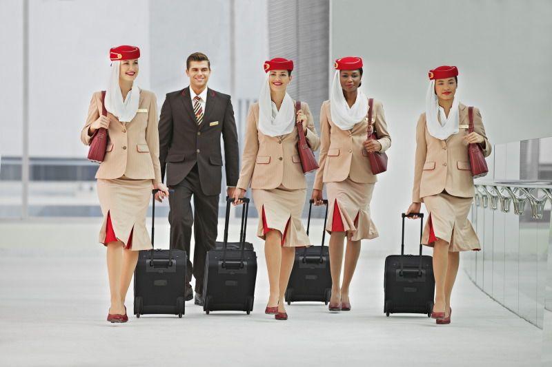 Emirates faz processo seletivo em São Paulo e no Rio de Janeiro