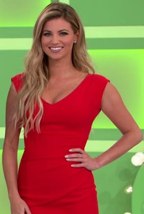 price is right blonde model