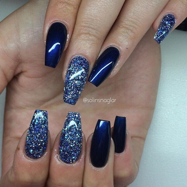 Dark Blue Nail Ideas Beauty Musely Tip