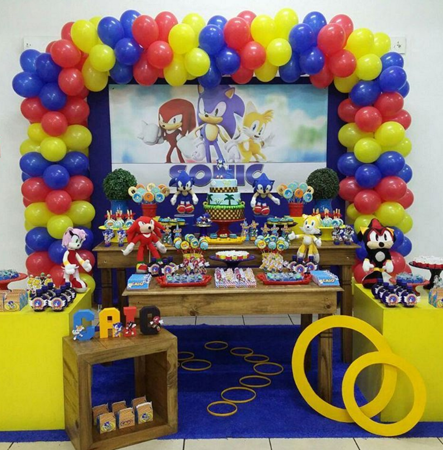 Sonic The Hedgehog Party Supplies Party City