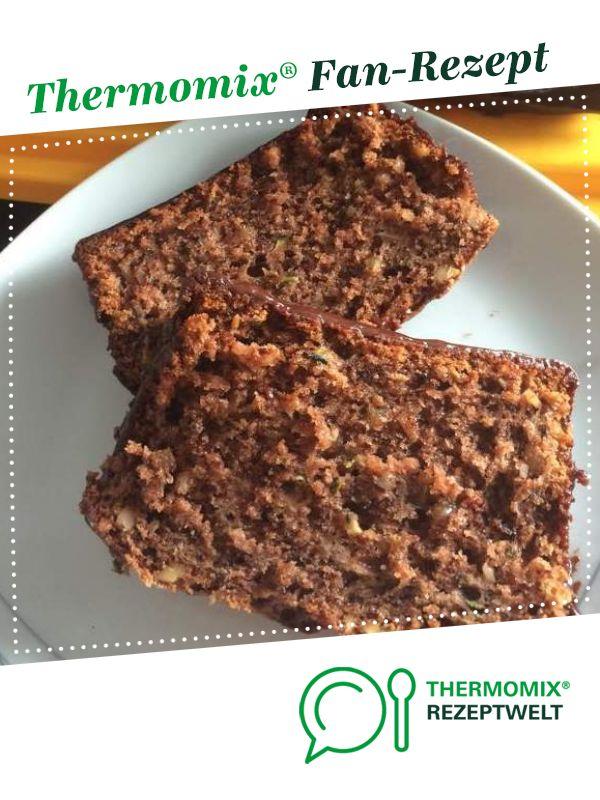 Zucchinikuchen Super Saftig Schokoladig Rezept Zucchini Kuchen Rezepte Thermomix Rezepte