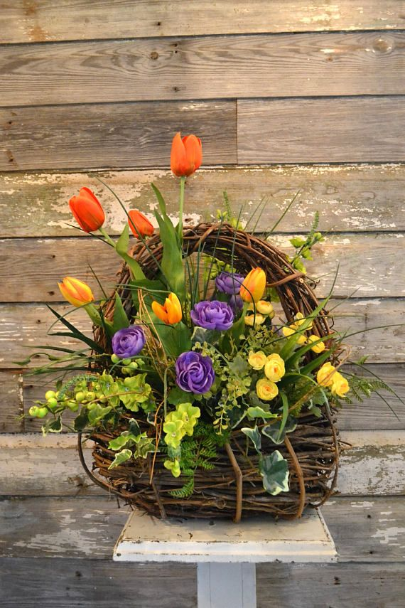 Bright and colorful spring summer silk floral arrangement ideas bright and colorful spring summer silk floral arrangement mightylinksfo