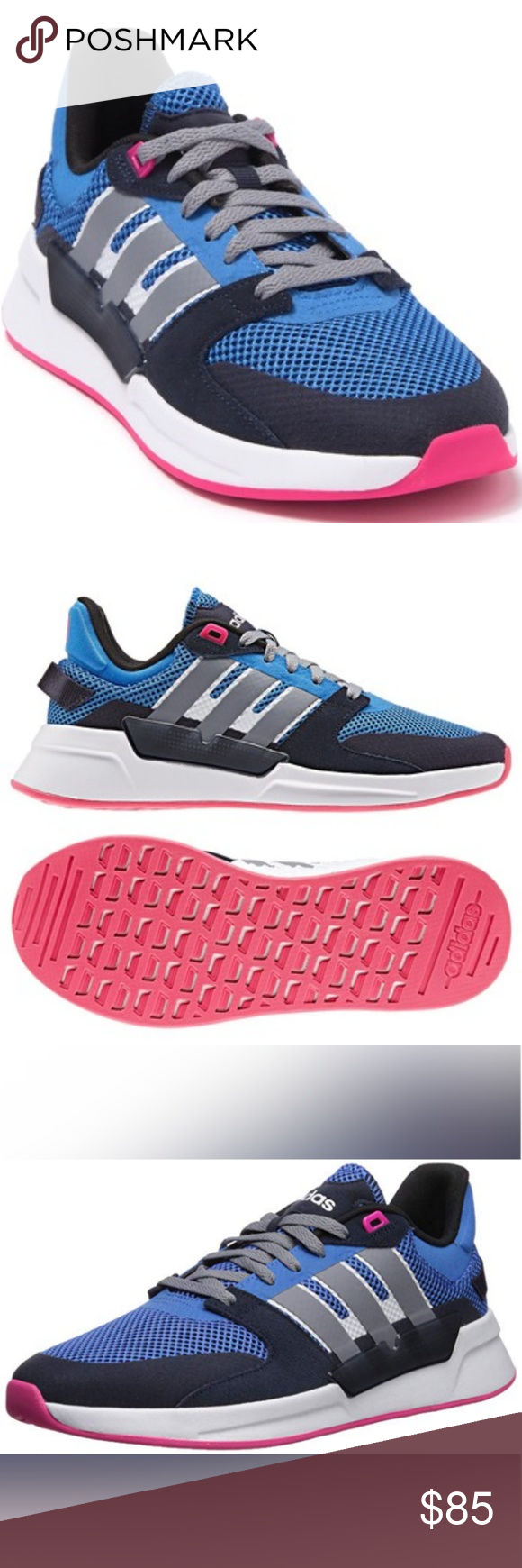 adidas 90s run parley women's sneakers