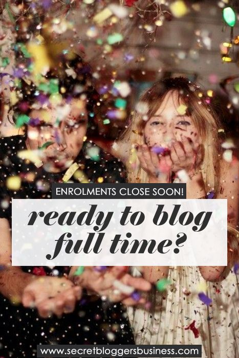 The Secret Bloggers Business Bootcamp enrollments are closing soon!!! If you want to learn how to turn your blog into a 6-figure business (by someone whose done it!) then click here >> http://www.secretbloggersbusiness.com/membership-account/enroll-now/ blogging, blog tips, start a blog, blog traffic, blog ideas http://www.secretbloggersbusiness.com/membership-account/enroll-now/