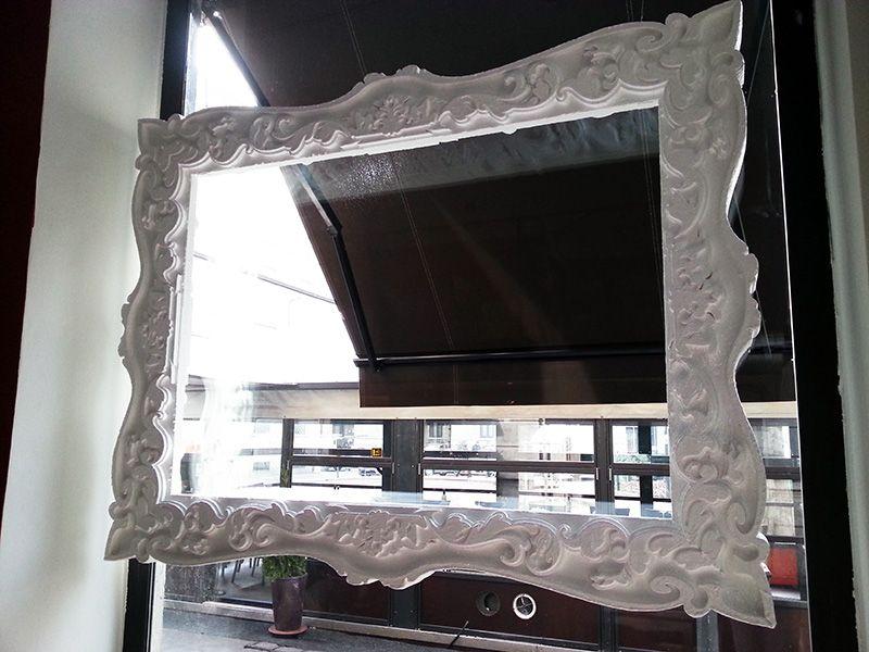 Cornici In Polistirolo Per Specchi.Cornice In Polistirolo E Resina Disponibile Su Www Materik It