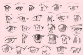 Resultado De Imagen De Animes Para Dibujar Dibujos De Ojos Ojos Manga Como Dibujar Ojos